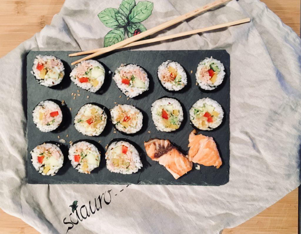 Sushi vegano by RO
